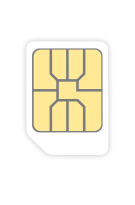 3 SIM Only:  SIM 4GB Data, All-you-can-eat Minutes - 1 Month