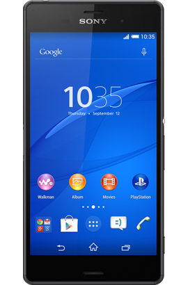 3 pay as you go: Sony Xperia Z3
