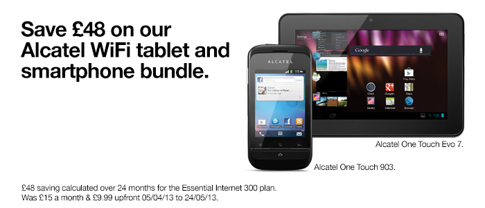 Alcatel Bundle.