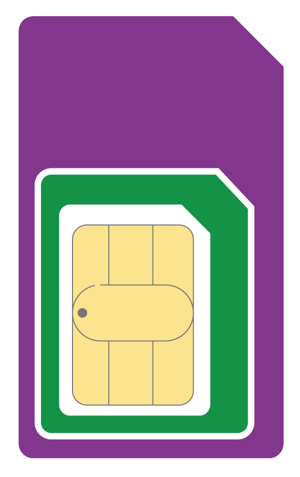 Three Pay as You Go Trio SIM come in 3 different sizes - Standard, Nano, Micro - so it fits all the mobile phones